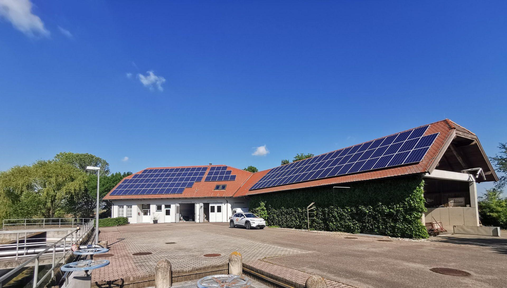 Kläranlage Photovoltaik