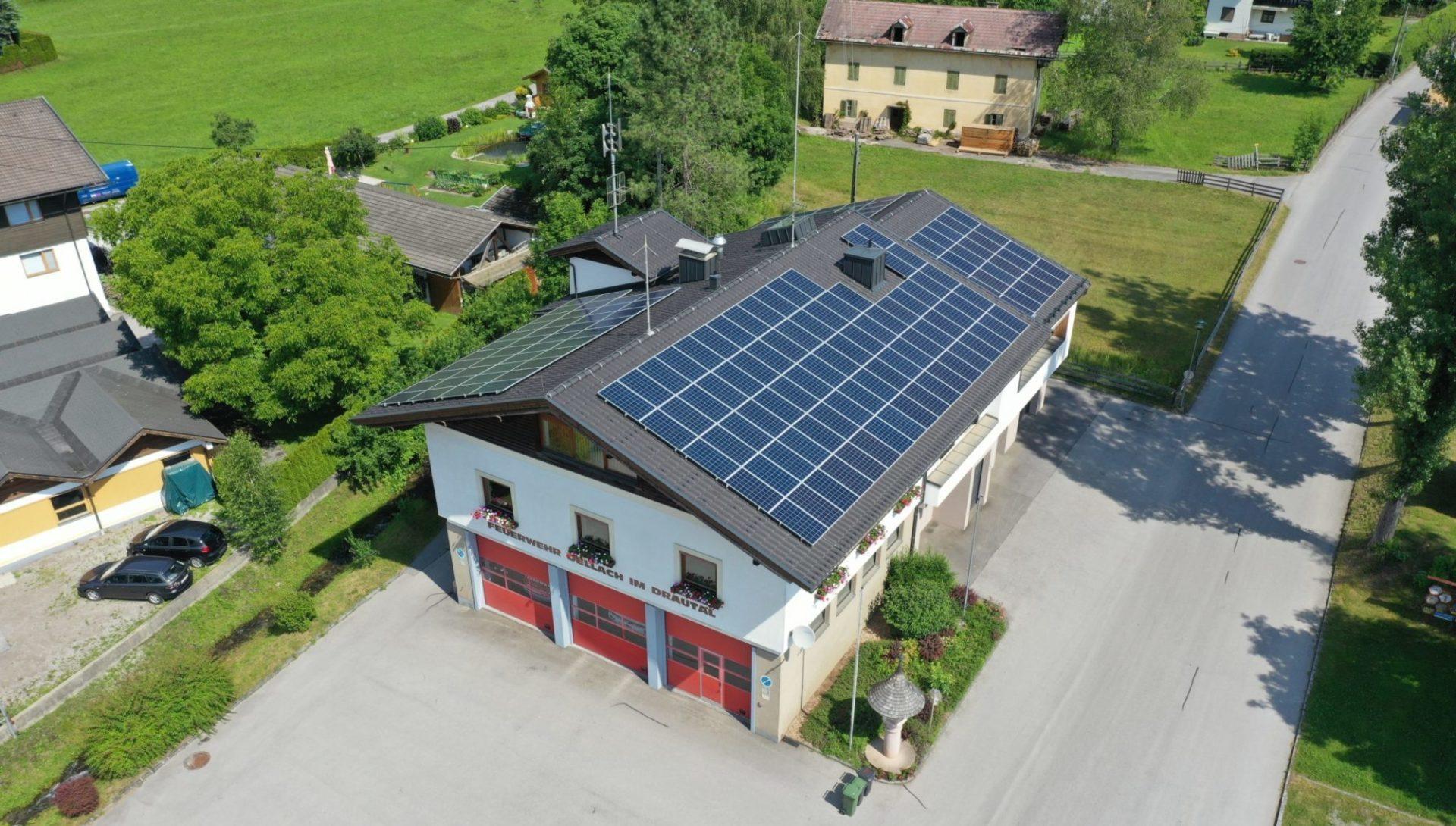 Feuerwehr Dellach PVdirekt lokale Energiegemeinschaft