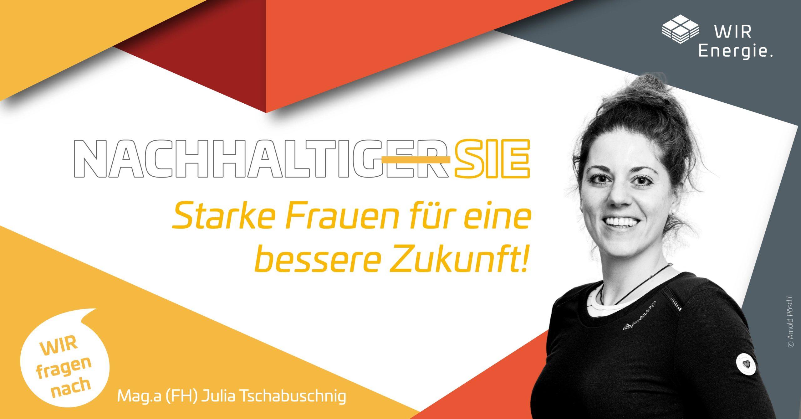 WIR Energie Interview Julia Tschabuschnig
